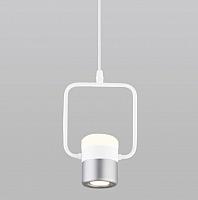 Потолочный светильник Евросвет 50165/1 LED 9W (белый/серебристый) -