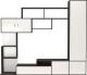 Стенка Артём-Мебель СН-117.01 (сосна арктическая/венге) -