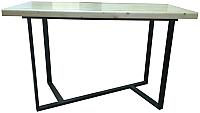 Обеденный стол Грифонсервис Loft СМ13 (черный/сосна) -