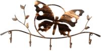 Вешалка для одежды Грифонсервис Бабочка ВШ17 (бронза) -