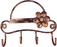 Вешалка для одежды Грифонсервис Шляпа ВШ18 (бронза) -