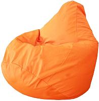 Бескаркасное кресло Flagman Груша Макси Г2.7-08 (оранжевый) -