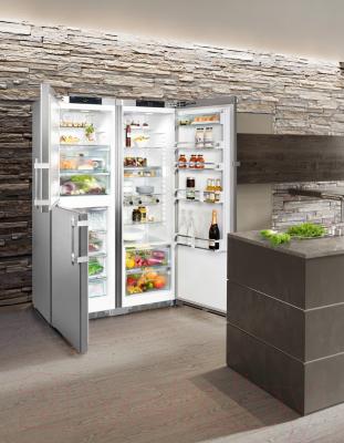 Холодильник с морозильником Liebherr SBSes 8473