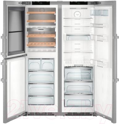 Холодильник с морозильником Liebherr SBSes 8486