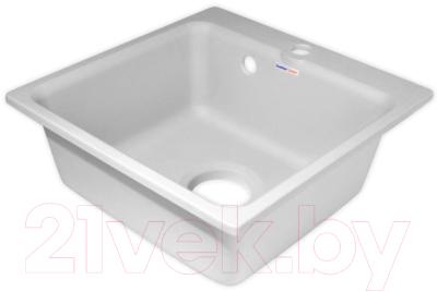 Мойка кухонная GranFest Smart GF-SM430 (белый)