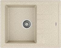 Мойка кухонная Teka Stone 45 S-TG 1B 1D / 115330044 (песочный бежевый) -