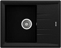 Мойка кухонная Teka Stone 45 S-TG 1B 1D / 115330045 (черный металлик) -