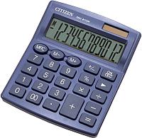 Калькулятор Citizen SDC-812 NRNVE (синий) -