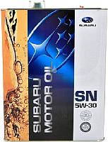 Моторное масло Subaru 5W30 / FIG62166T4L (4л) -