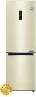 Холодильник с морозильником LG DoorCоoling+ GA-B459MESL -