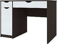 Письменный стол Артём-Мебель Белла СН 119.04 (сосна арктическая/венге) -