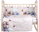 Комплект постельный в кроватку Alis Счастливчик NEW 6 Мальчик (бязь) -