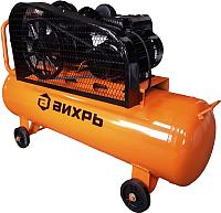 Воздушный компрессор Вихрь КМП-400/100P (74/3/7) -