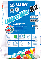 Клей для плитки Mapei Ultralite S2 Bianco (15кг) -