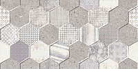 Плитка Netto Cemento Perht Hexagon (300x600) -