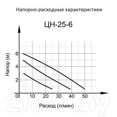 Циркуляционный насос Вихрь Стандарт Ц-25/6 (68/7/7)