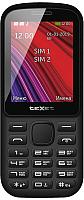 Мобильный телефон Texet TM-208 (черный/красный) -