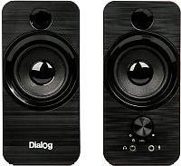 Мультимедиа акустика Dialog AST-17UP (черный) -