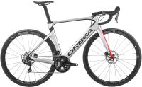 Велосипед Orbea Orca Aero M30 Team D 2020 / K135GK (51, серебристый/красный) -