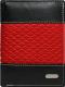 Портмоне Cedar Loren N4-DDG (черный/красный) -