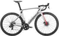 Велосипед Orbea Orca Aero M21E Team D 2020 / K139GK (55, серебристый/красный) -
