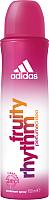 Дезодорант-спрей Adidas Fruity Rhythm парфюмированный для женщин (150мл) -