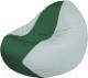 Бескаркасное кресло Flagman Classic К2.1-39 (зеленый/белый) -