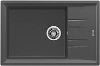 Мойка кухонная Teka Stone 60 S-TG 1B 1D / 115330034 (без клапана-автомата) -