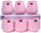 Набор стаканов Bohemia Crystal Sandra Pink 23013/D5123/290 (6шт) -