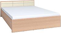 Каркас кровати Глазов Амели 1 180x200 (дуб отбеленный) -