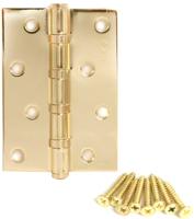 Петля дверная Avers Универсальная 100x70x2.5-B4 (золото) -