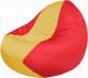 Бескаркасное кресло Flagman Classic К2.1-58 (желтый/красный) -