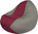 Бескаркасное кресло Flagman Classic К2.1-91 (бордовый/серый) -