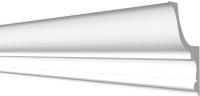 Плинтус потолочный Decor-Dizayn DD509 с отражателем (120x75x2000) -