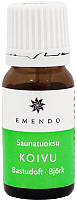 Ароматизатор для бани Emendo Аромат березы / 2030 (10мл) -