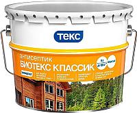 Антисептик для древесины Текс Биотекс Классик Универсал (9л, рябина) -