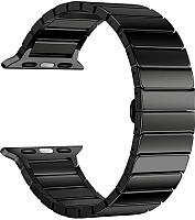 Ремешок для умных часов Miru 4060 для Watch SG-02 (металл, черный) -
