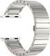 Ремешок для умных часов Miru 4059 для Watch SG-02 (металл, серебристый) -