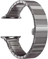 Ремешок для умных часов Miru 4062 для Watch SG-09 (металл, черный) -