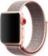 Ремешок для умных часов Miru 4042 для Watch SN-01 (нейлон, светло-розовый) -