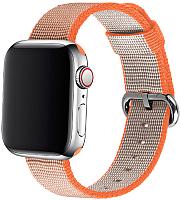 Ремешок для умных часов Miru 4050 для Watch SN-02 (нейлон полоска, оранжевый) -