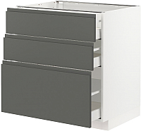 Шкаф-стол кухонный Ikea Метод/Максимера 593.102.89 -