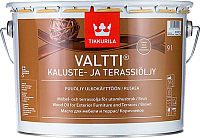 Масло для древесины Tikkurila Валтти Калусте (9л, коричневый) -