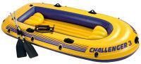 Надувная лодка Intex Challenger-3 Set / 68370NP -