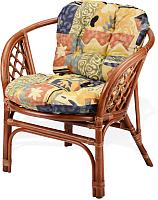 Кресло садовое Мир Ротанга Багама 01/17В (коньяк) -