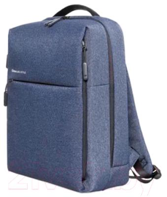 Рюкзак Xiaomi Mi City Backpack / ZJB4068GL (темно-синий)