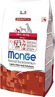 Корм для собак Monge Speciality Adult Mini Lamb,Rice&Potato (0.8кг) -