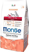 Корм для собак Monge Speciality Mini Adult Salmon&Rice (0.8кг) -