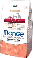 Корм для собак Monge Speciality Mini Adult Salmon&Rice (15кг) -