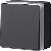 Выключатель Werkel Gallant WL15-01-02 / a041689 (черный/хром) -